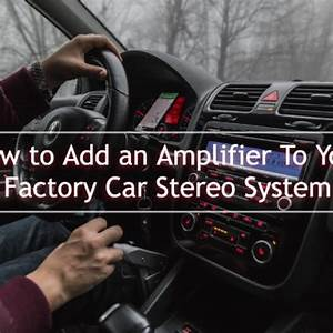 How To Install A Car Stereo Without A Wiring Harness Adapter