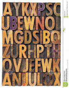 wood type alphabet stock photos image 33357223 With leather press letters