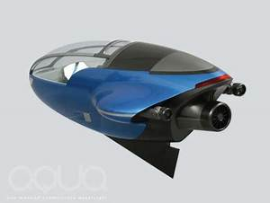 Aqua Future Submersible Watercraft For Both On And Under