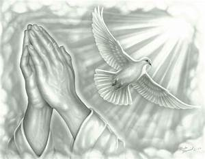Drawings Of Praying Hands Pictures to Pin on Pinterest ...