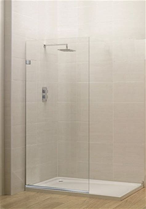 shower glass panel amazoncom