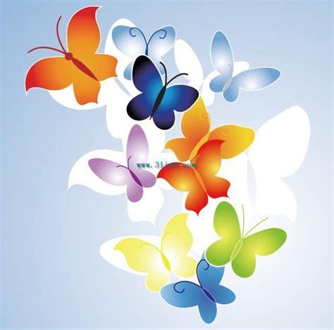 gambar  vector gambar kupu cantik desain grafis salamun