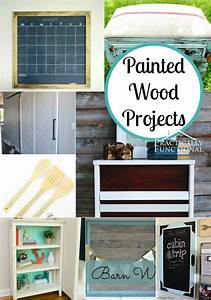 Inspiring, Painted, Wood, Projects