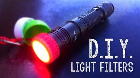 diy flashlight light filtersdiffuser youtube