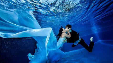 underwater wedding fashion belief