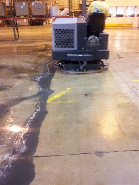 Concrete Floor Scrubber Pads by Warehouse Concrete Floor Cleaning Paul J Enterprises Inc
