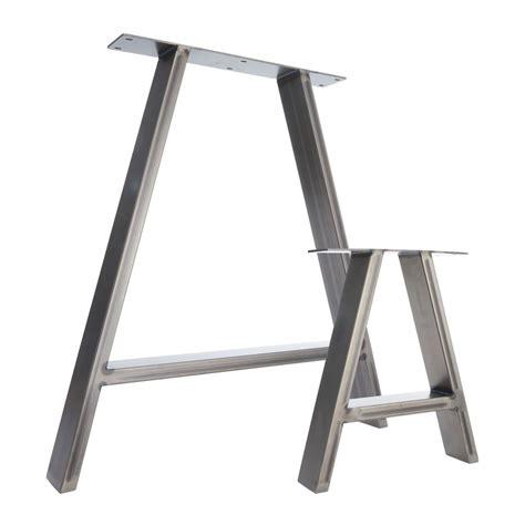 metal legs for a desk 2 x steel table legs desk legs bench legs industrial
