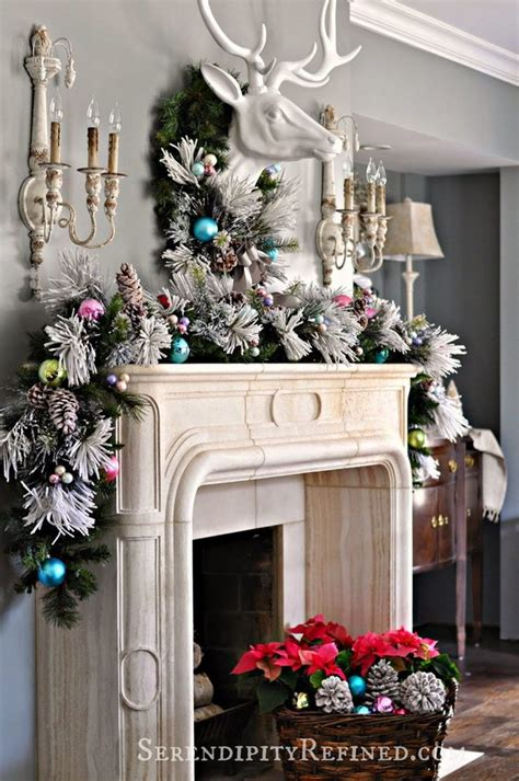 gorgeous christmas mantel decoration ideas tutorials
