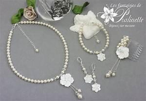 les fantaisies de pralinette bijoux mariage et With bijoux pour mariee
