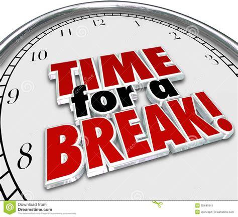 Break Time Clipart Clipground