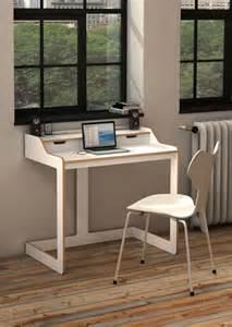 modern desks for small spaces white wood modern desk for