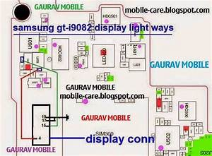 Samsung I9082 Light Diagram