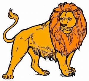 Cartoon Lion Roaring - Cliparts.co