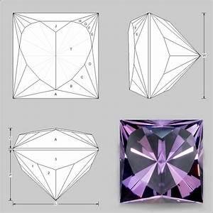 Princess Heart Faceting Design
