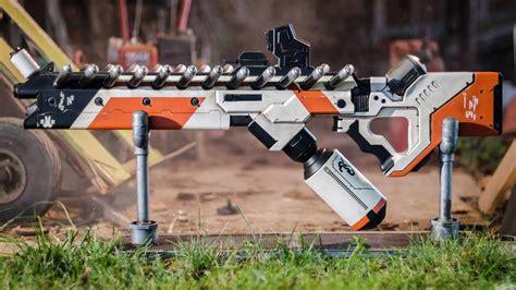 Making A District 9 Alien Assault Rifle Prop Replica