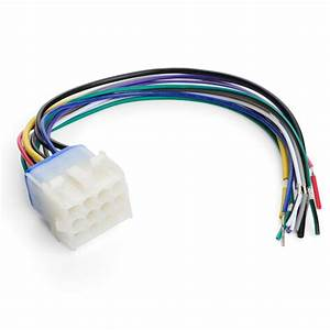 Marine Stereo Wiring Harness Aq-unh-2