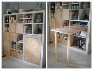 Ikea Arbeitszimmer Schrank : ikea hack foldable table container house pinterest ~ Lizthompson.info Haus und Dekorationen