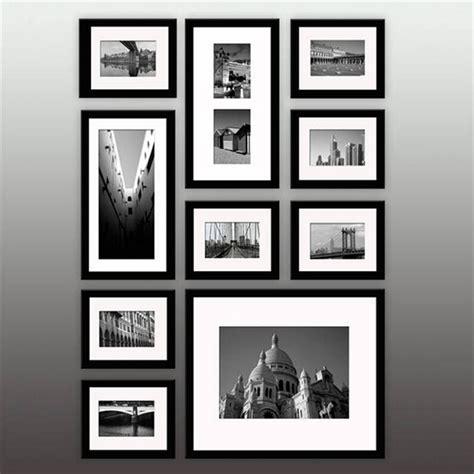 wand mit bilderrahmen hausdeko bilderrahmen galerierahmen wei 223 er wand bilderrahmen 10er set