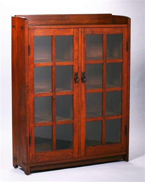 stickley bookcase for sale gustav stickley two door bookcase c1907 1910 california