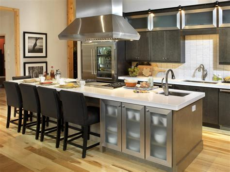 cuisines teissa kitchen islands with seating pictures ideas from hgtv hgtv