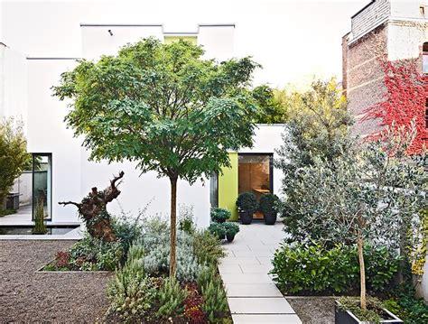 Mini Bäume Winterhart by Urbane Architektur Stadthaus Mit Garten Im Hinterhof