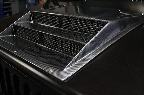 predator motorsports hummer  direct flow hood scoop