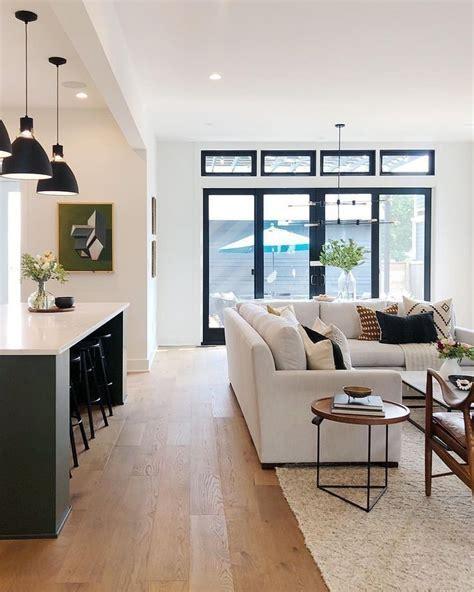 Modern house Wood floor Kitchen design ideas Home DIY