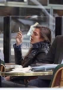 Charlotte Casiraghi Smoking