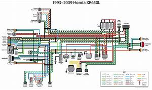 Redrawn Honda Xr650l Wiring Diagram - Articles