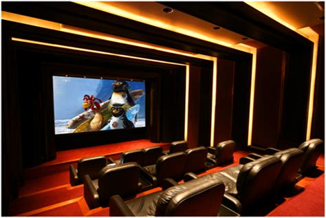 Home Theater Ceiling Design by Home Decor