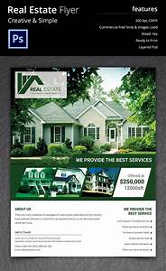 44 psd real estate marketing flyer templates free With real estate for sale flyer template