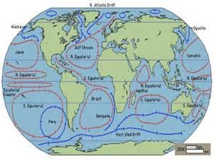 Atlantic Ocean Currents Map