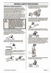 Husqvarna 445 445e 450e Chainsaw Owners Manual  2005 2006