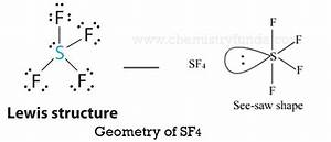 Lewis Structure Of Sf4