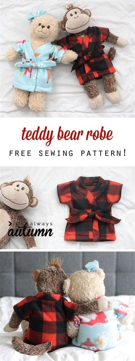 Build A Bear Clothes Patterns Free Printable
