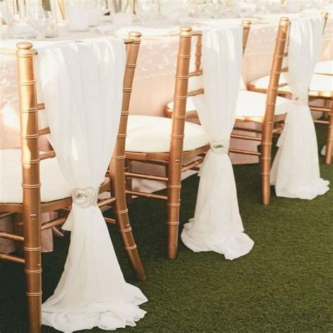 18 best chair decor images on wedding chairs chair covers and chair sashes