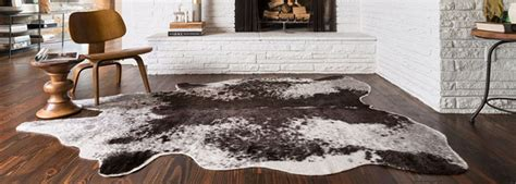 Cowhide Rug On Carpet by Cow Hide Rugs