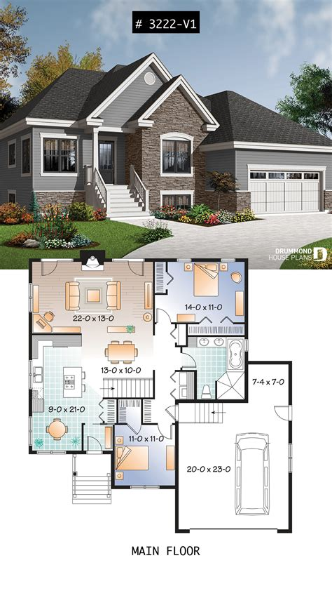 house plan Foxwood 2 No 3222 V1 Sims house plans House