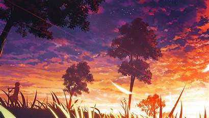 Anime Forest Manga Trees Backgrounds Desktop Wallpapers