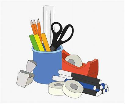 Office Supplies Clipart Stationery Clip Supply Paper