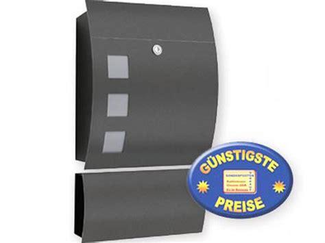 briefkasten anthrazit freistehend cenator 174 briefkasten anthrazit mit zeitungsfach cenator cm 547