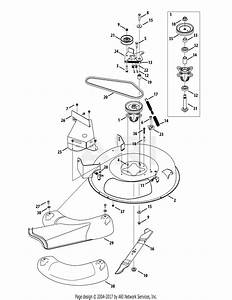 Mtd 13b326jc758  2015  Parts Diagram For Mower Deck