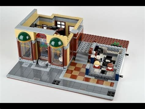 Lego Detective's Office 10246 Build Images Hd Youtube