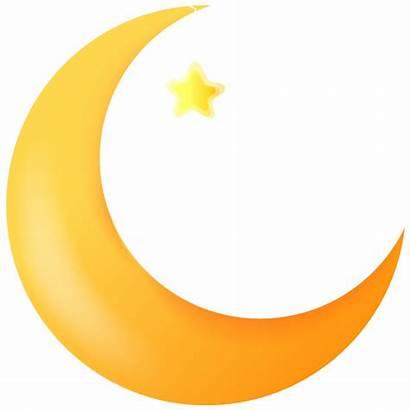 Moon Clip Clipart Cartoon Crescent