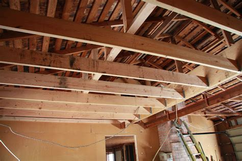 Ceiling Joist Hangers by Nutmeg Co New Garage Beam