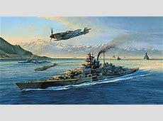 Luftfahrtkunst Taylor, Robert Knights Move Tirpitz