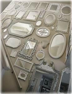 Treppe Shabby Chic : not so shabby shabby chic mirror wall is almost complete home flure m bel spiegel ~ Frokenaadalensverden.com Haus und Dekorationen