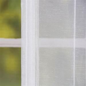 Fertiggardinen Mit Schlaufen : raffrollo rollo schlaufen wei transparent mit streifen 140x140cm fertiggardinen ~ Whattoseeinmadrid.com Haus und Dekorationen