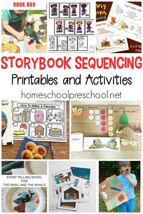 10 story sequencing cards printable activities for 845 | story sequencing cards printable