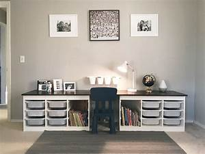 Bureau Design Ikea : kinderen bureau van ikea trofast ~ Teatrodelosmanantiales.com Idées de Décoration